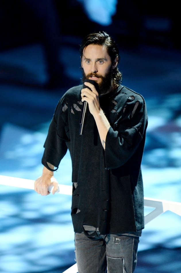 Jared Leto on Stage