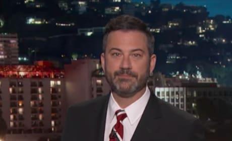 Jimmy Kimmel Turns Serious