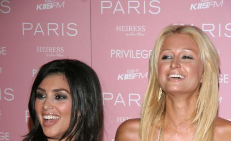 Kim Kardashian, Paris Hilton: Old School Pic