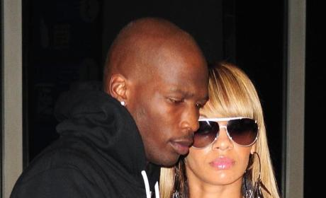 Ochocinco and Evelyn Lozada