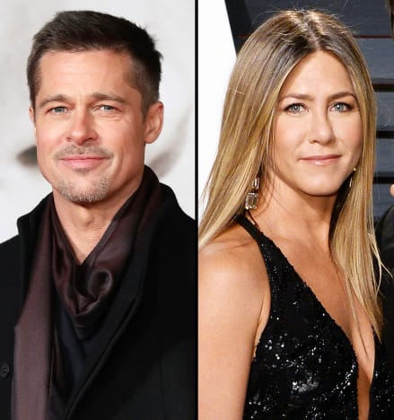 Brad Pitt Attended Jennifer Anistons Birthday Party And We Have So