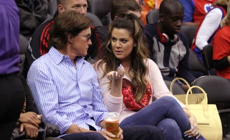 Khloe and Bruce: Clippers vs 76ers Game