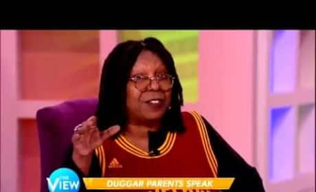 Whoopi Goldberg to the Duggars: Stop Playing the God Card!