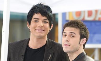 Adam Lambert and Kris Allen on NBC's The Today Show