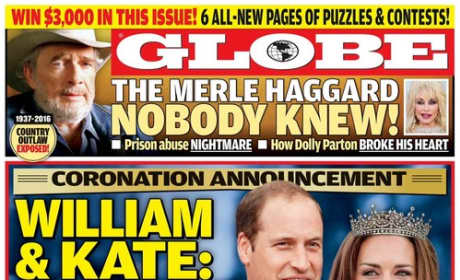 Will and Kate On The Cover of the Nationa Enquirer