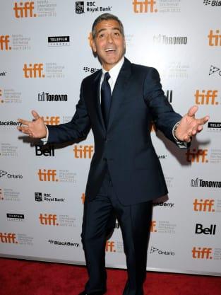 George Clooney in Toronto