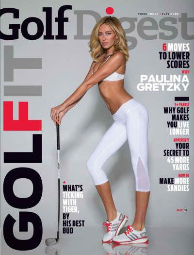 Paulina Gretzky Golf Digest Cover
