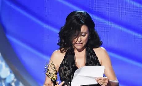 Julia Louis-Dreyfus Acceptance Speech Emmys 2016 Pic
