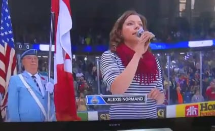 Alexis Normand National Anthem Attempt: Major FAIL!
