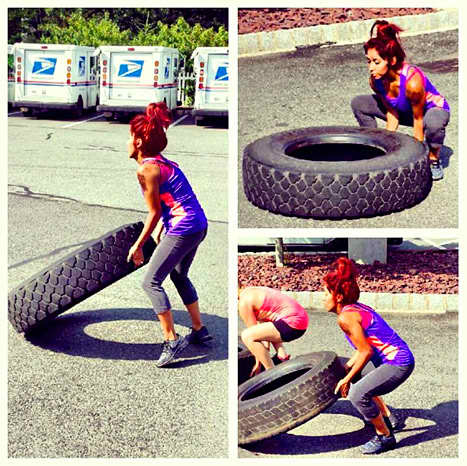 Snooki Working Out