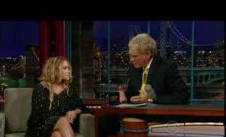 Mary-Kate on Letterman