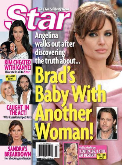 Brad Pitt Pregnancy Shocker!