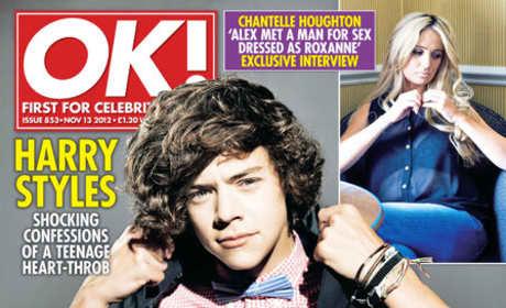 Harry Styles OK! Cover