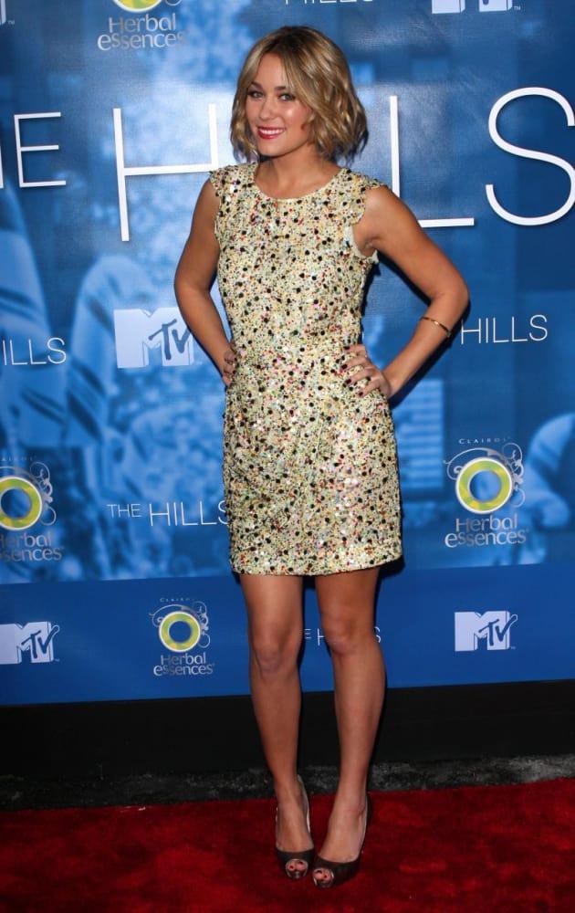 Lauren Conrad at The Hills Finale Party