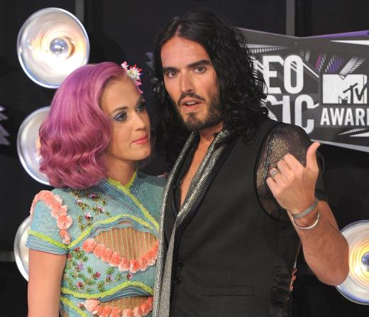 Katy Perry and Russell