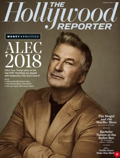Alec Baldwin on The Cover