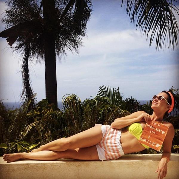 Katy Perry Bikini Pose