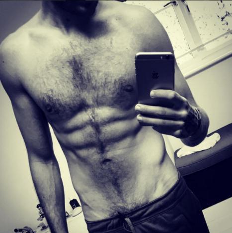 Liam Payne torso