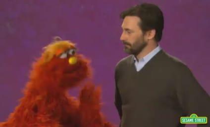Jon Hamm Goes Through Emotional Ringer on Sesame Street