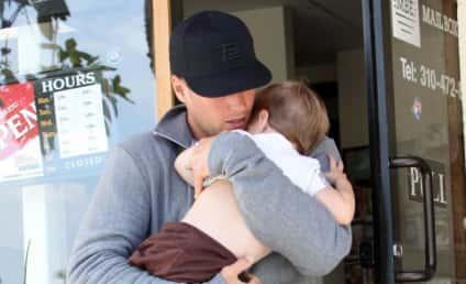 Cute Celebrity Baby (Daddy) Alert: Tom Brady and Son!