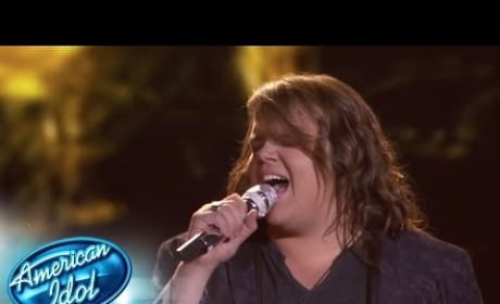 "Caleb Johnson Sings ""Maybe I'm Amazed"""