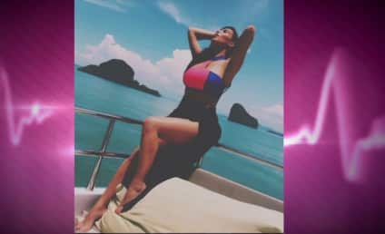 Kim Kardashian Models VERY Expensive Bikini