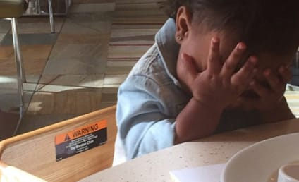 North West Plays Peek a Boo with Khloe Kardashian, Remains Totally Adorable
