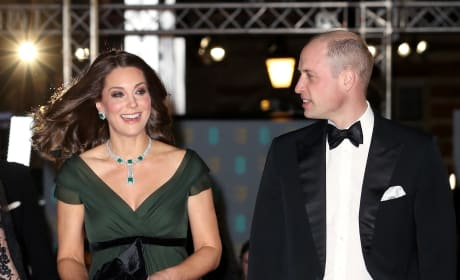 Kate and Will on Red Carpet