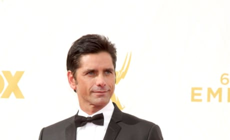 John Stamos at the Emmys