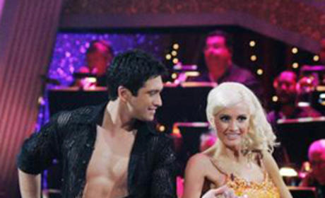 Holly Madison and Dmitry Chaplin