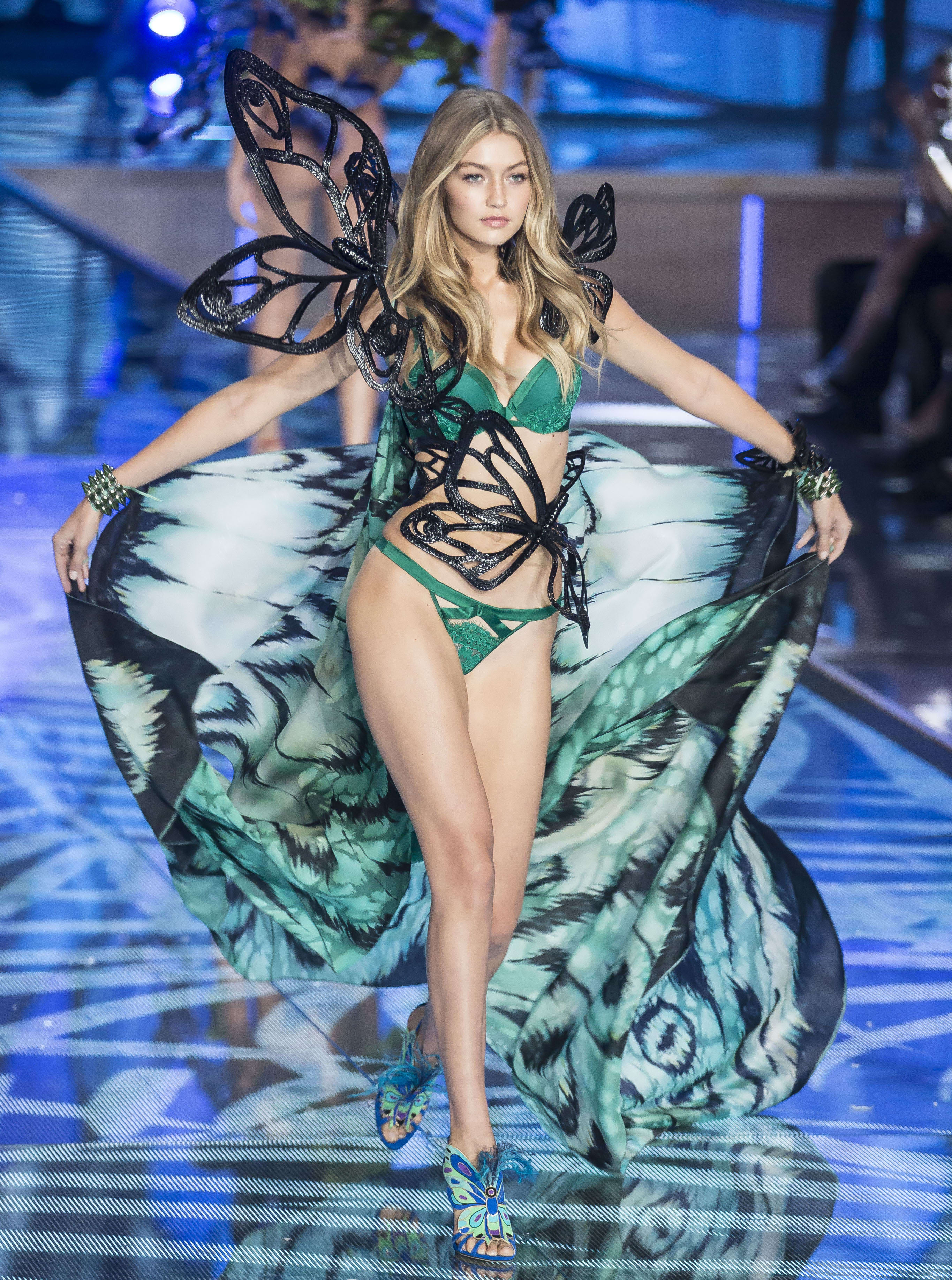 Gigi Hadid: 2015 Victoria's Secret Fashion Show - The Hollywood Gossip