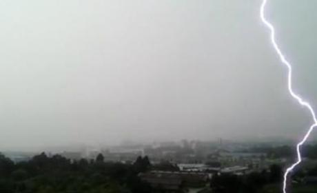 Lightning Strike in South Korea