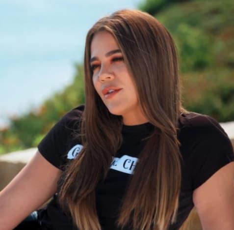 Khloe Kardashian Talks to Tristan