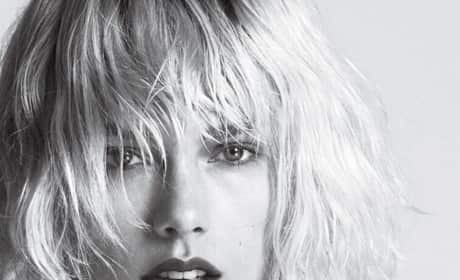 Black and White Taylor Swift