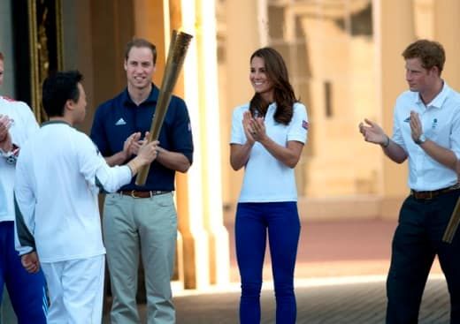 Welcoming the Torch