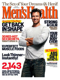 Josh Duhamel in Men's Health
