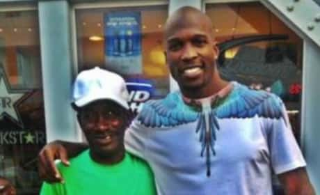 Chad Johnson, Homeless Man