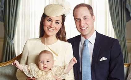 Prince George Christening: Official Portraits Revealed!