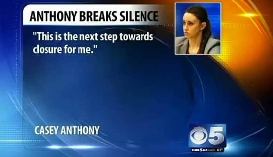 Casey Anthony Quote