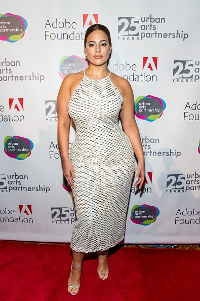 Ashley Graham Attends Benefit