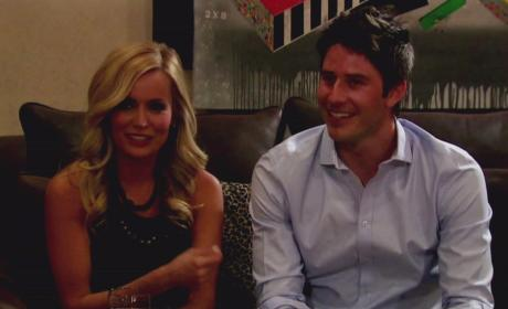 Emily Maynard and Arie Luyendyk Jr.