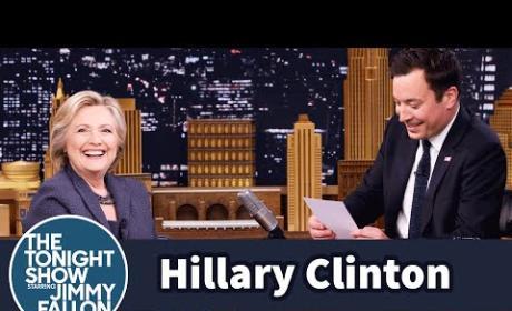 Jimmy Fallon Interviews Hillary Clinton, Part 2