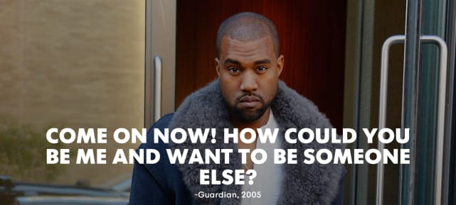 11 Ego Inflating Quotes By Kanye West The Hollywood Gossip