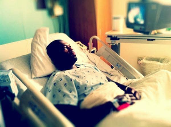 50 Cent Hospitalized