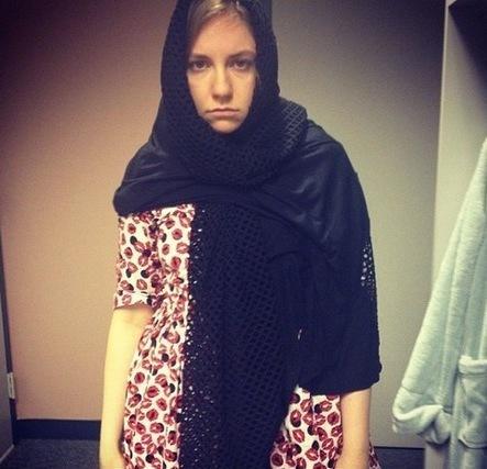 Lena Dunham Muslim Photo