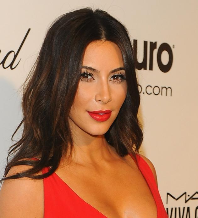 Kim Kardashian in Red