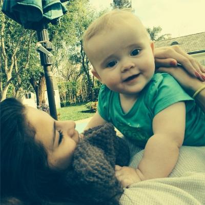 Selena Gomez and Sister
