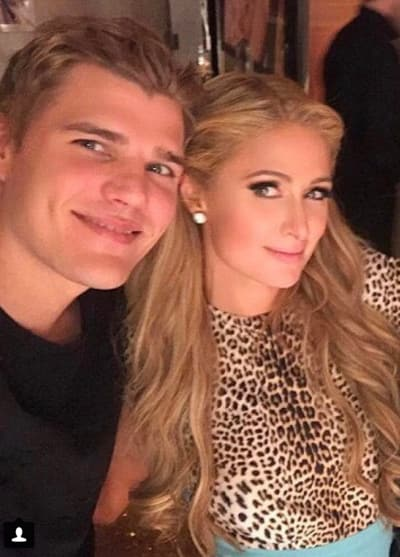 Chris Zylka and Paris
