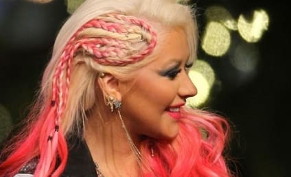 Christina Aguilera Braid Creates Buzz on The Voice