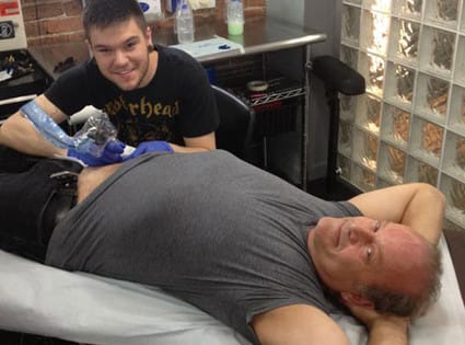 Kelsey Grammer Tattoo Pic